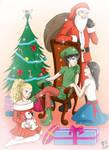 Arty Christmas by Kairi-Moon