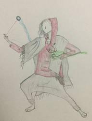 Shaolin Raver Monk by anakhe