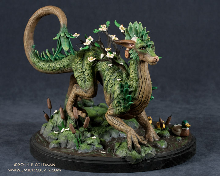 Spring Dragon by emilySculpts