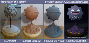 Progression of a Koffing!