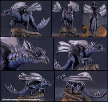 Commission : Shadow Dragon, Additional Shots by emilySculpts
