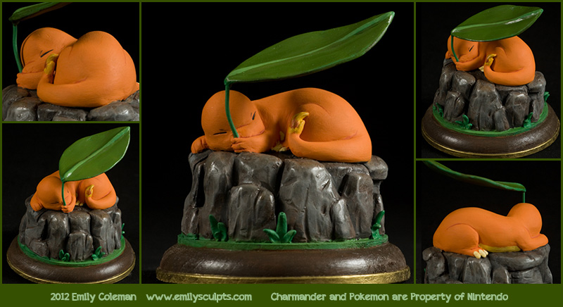 Charmander - The Stray Pokemon by emilySculpts