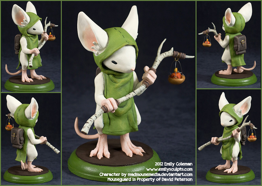 Commission Mouseguard Lessie Of Ivydale By Emilysculpts