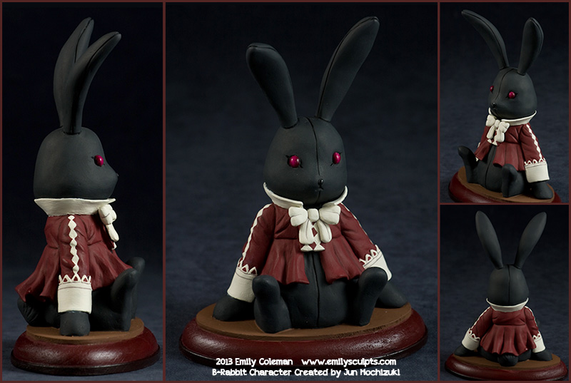 Commission : Pandora Hearts - B-Rabbit Plush by emilySculpts