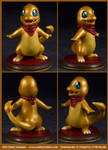 Commission : Shiny Charmander - Ready for Battle!