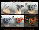 The Making of Survival - Nanaki/Red XIII