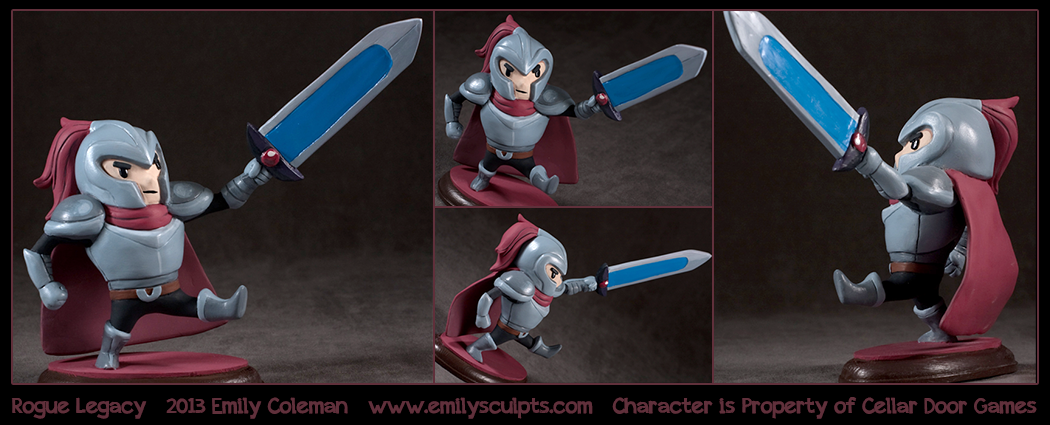 Commission : Rogue Legacy by emilySculpts