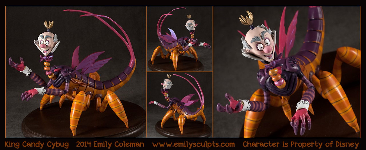 King Candy Cybug by emilySculpts