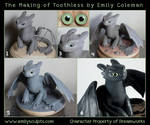 The Making of Toothless