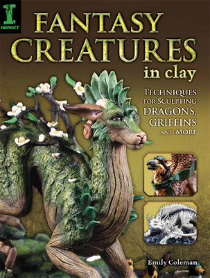 Fantasy Creatures in Clay by emilySculpts