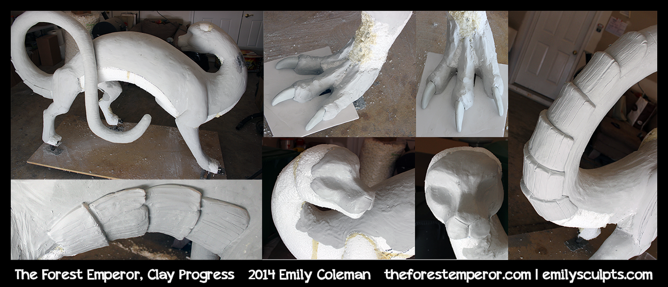 forest_emperor__clay_progress_by_emilysc