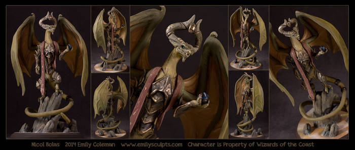 Commission : Nicol Bolas by emilySculpts