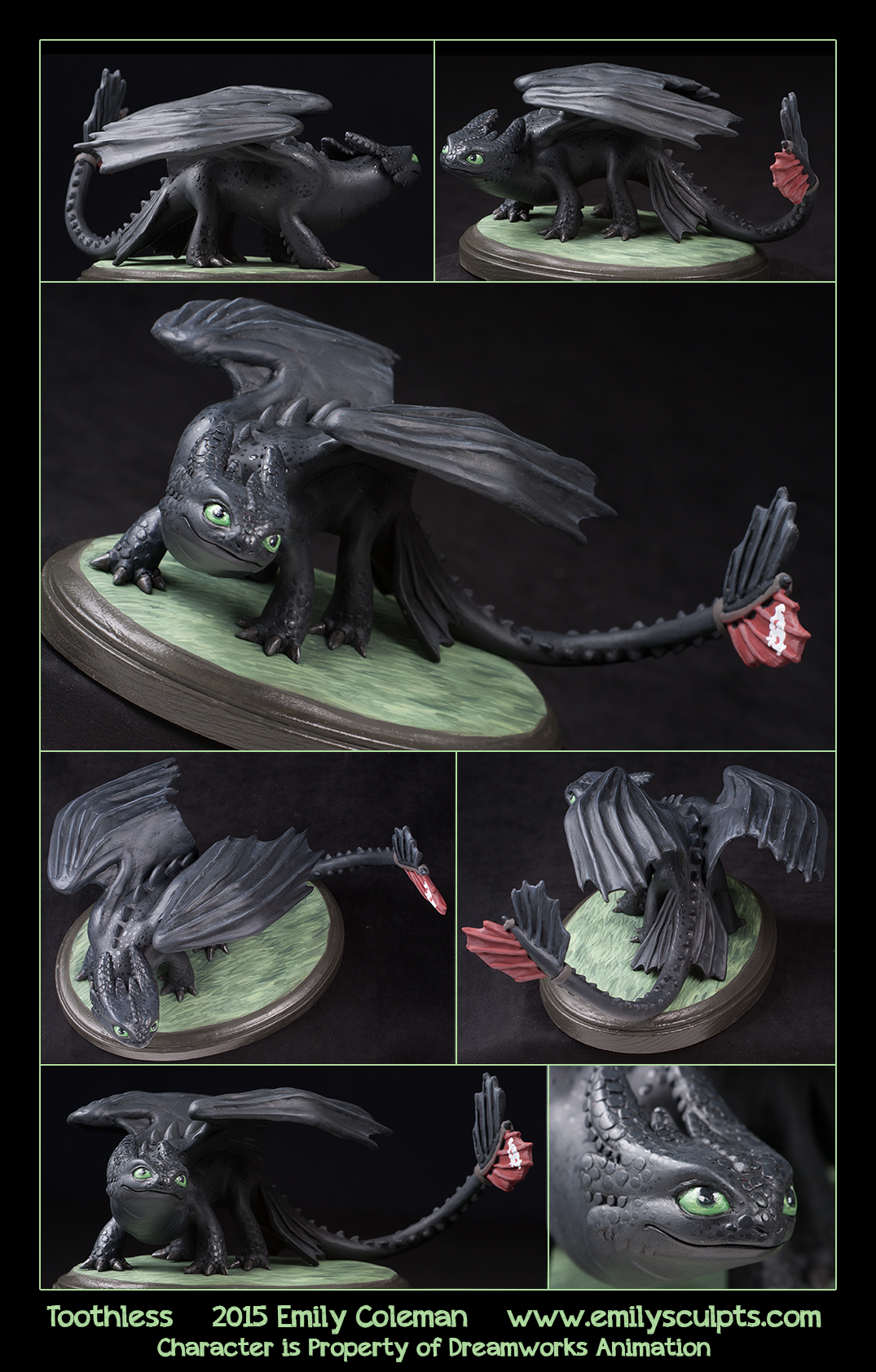 Commission Toothless By Emilysculpts On Deviantart