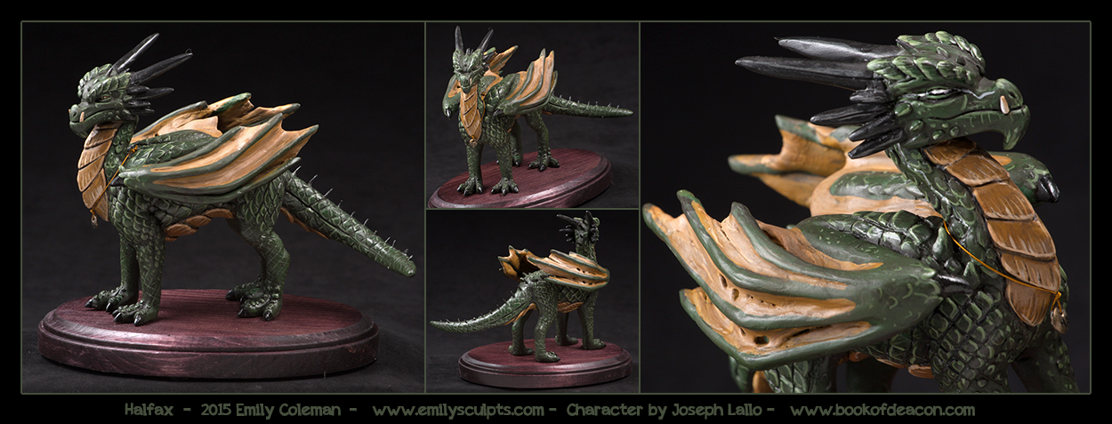 Commission : Halfax by emilySculpts