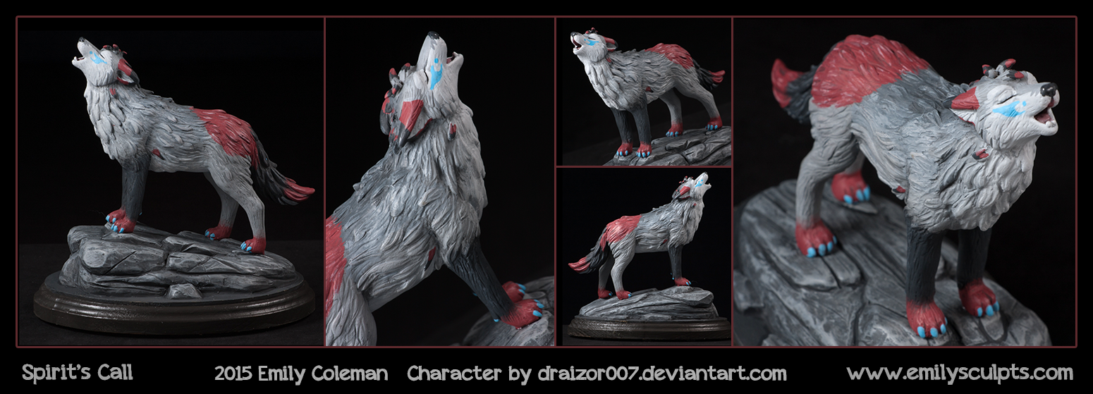 Commission : Spirit's Call by emilySculpts