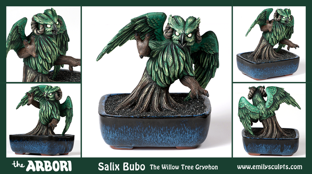 The Arbori : Salix Bubo by emilySculpts