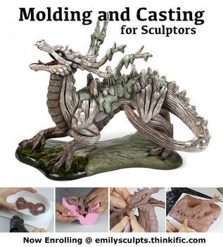 Molding and Casting for Sculptors - Now Enrolling by emilySculpts