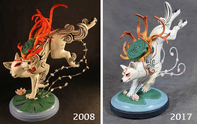 Okami : Then and Now