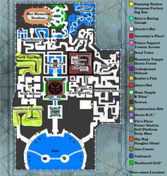 Jak II Haven Map by DrinkTeaOrDie