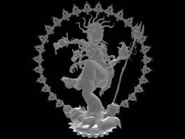 Shiva Natarja by kriksix