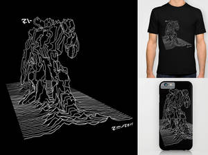 Soundwave design tee shirt sale on Society6