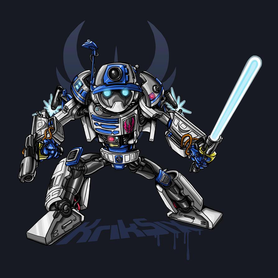 R2D2 Transformer by kriksix