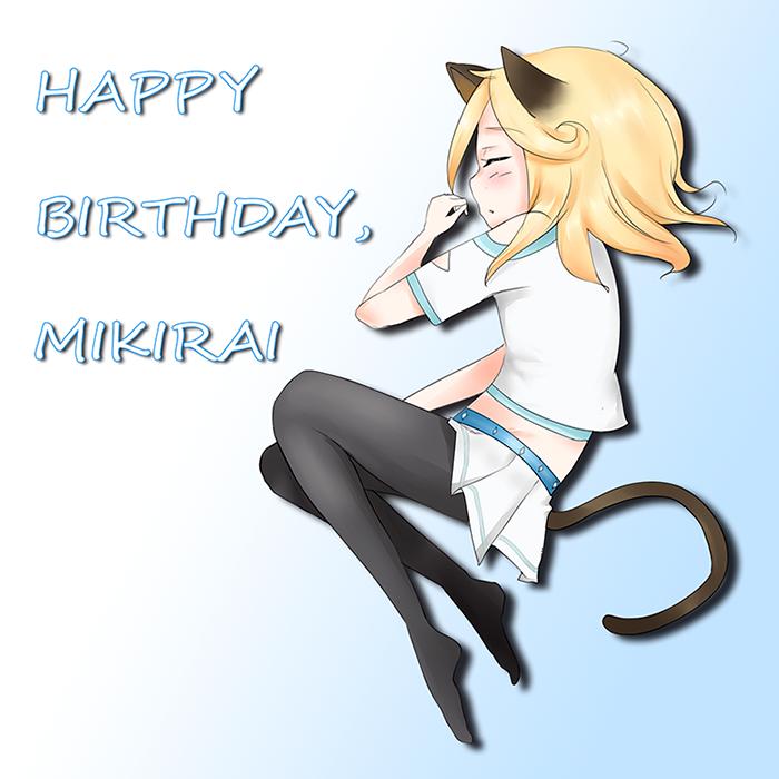 HBD Mikirai! by Remikia
