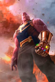 Thanos - Digital Painting