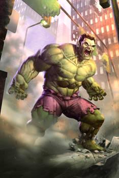 Hulk Smash! fan art