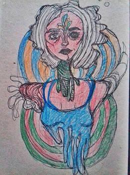 childlike coloring