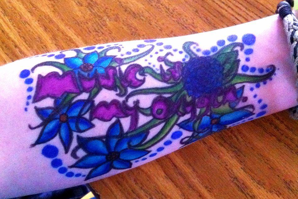 Half Sleeve Inner Arm by MoonlitDisaster
