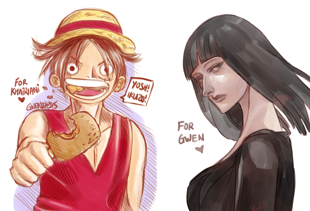 Robin and luffy images galleries with - One piece luffy x robin ...