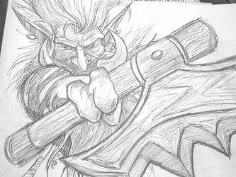 Zul'jin WCII for Heroes of the Storm by PDG-art