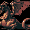 Deco Sprite - Red Dragon by LePixelists
