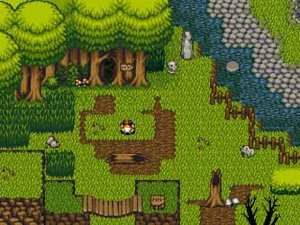 Tilesets - Vegetation 02
