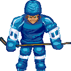 Hockey Player by LePixelists