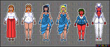 Female Character Sprites