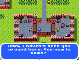 Dragon Quest Inspired 8-Bit Tileset