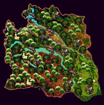Pixel Map - Junin de los Andes