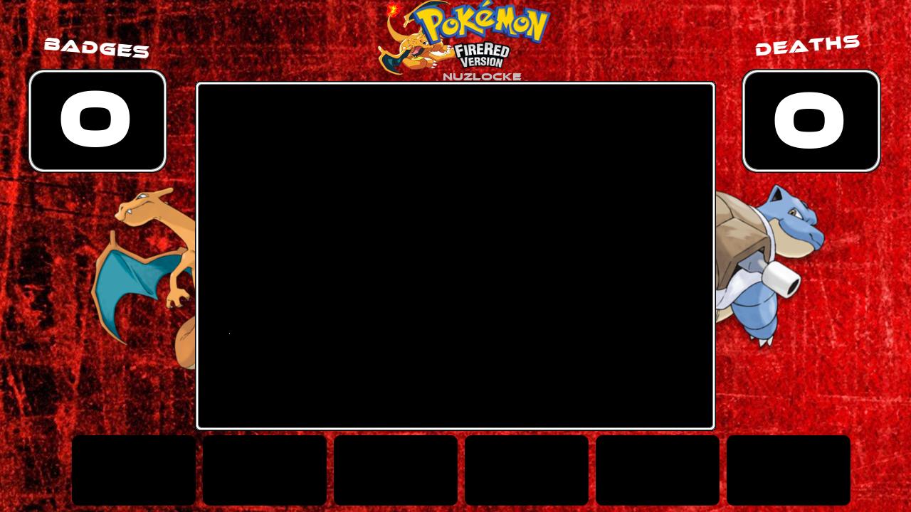 Pokemon Fire Red Nuzlocke Layout By Superslayer649 On