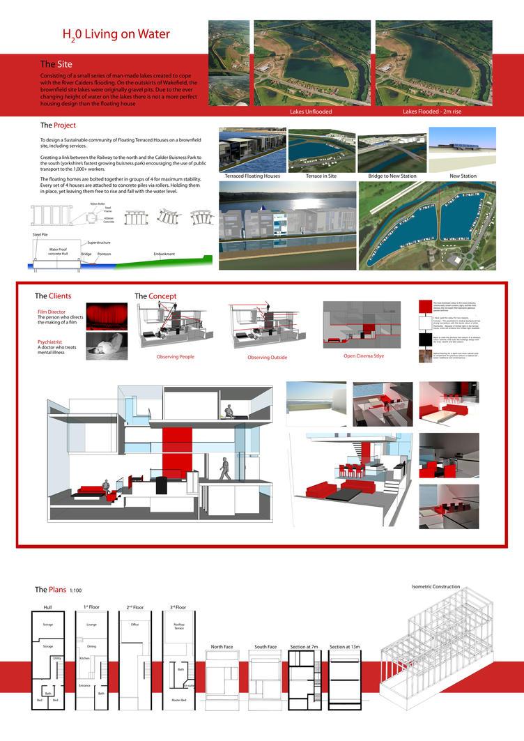 Floating house design by nikology on deviantart for Float home designs