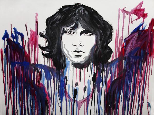 The Doors - Jim Morrison by mudridedotcom