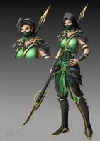 Mortal Kombat - Jade by MetaShinryu