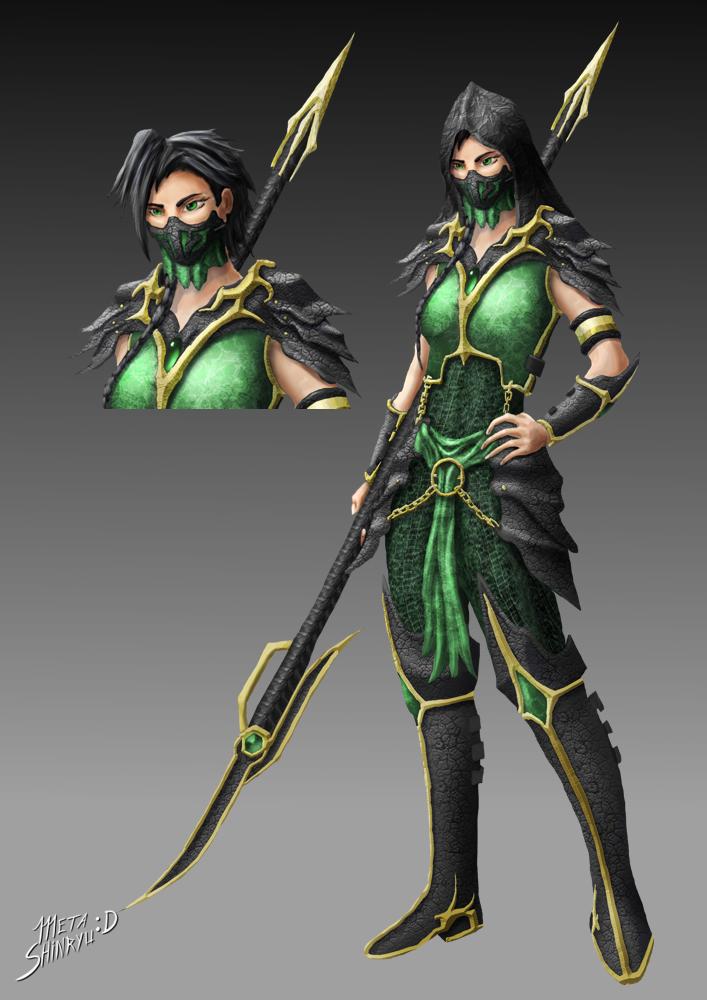 Mortal Kombat - Jade by MetaShinryu on DeviantArt
