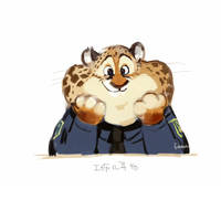 Zootopia - Clawhauser - 02