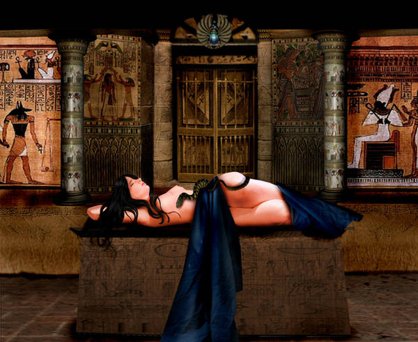 Death of Cleopatra by ThornErose