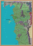 The Witcher 3 Wild Hunt - Ortelius map by Torpeda