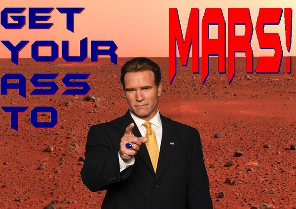 Resultado de imagen para mars arnold schwarzenegger TOTAL RECALL MARS