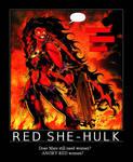 Red She-Hulk, Mars Needs Women