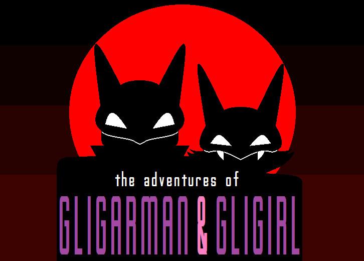 Adventures of Gligarman & Gligirl by War-Journalist